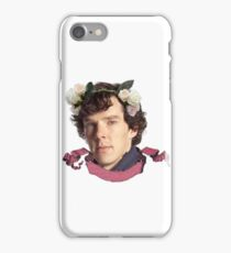 Sherlock Flowers iPhone Case/Skin