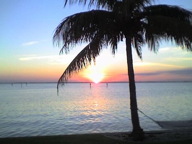 Sunset on the Lagoon by larrylender