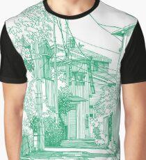 Manga Hintergrund 01 Grafik T-Shirt