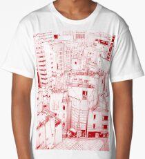 Manga background 03 Long T-Shirt