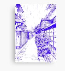 Manga background 04 Canvas Print