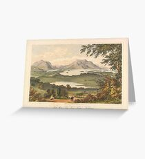 Stark Brothers,  16 Lower Sackville Street, Dublin, lithographs of Dublin, Killarney in Kerry 5 Greeting Card
