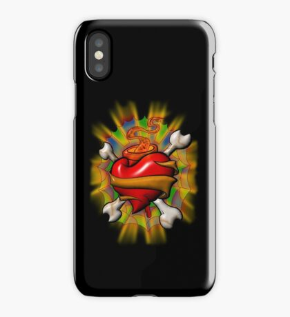 Sacred Pirate Heart iPhone Case