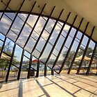 1427 Looking out - Canberra by Hans Kawitzki