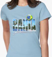 bahia brasil  Womens Fitted T-Shirt
