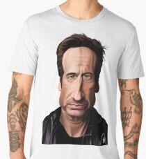Celebrity Sunday - David Duchovny Men's Premium T-Shirt