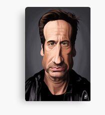 Celebrity Sunday - David Duchovny Canvas Print