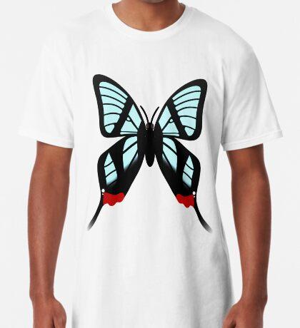 Glasswing Swallowtail Butterfly Long T-Shirt