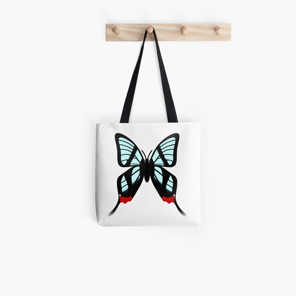 Glasswing Swallowtail Butterfly Tote Bag