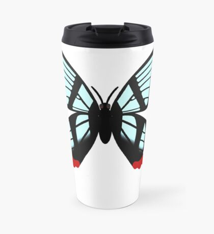 Glasswing Swallowtail Butterfly Travel Mug