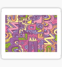 PopArt/Comic/StreetArt Composition Sticker