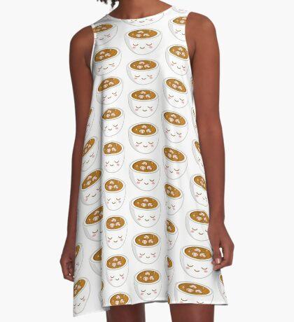 Mushroom Soup A-Line Dress