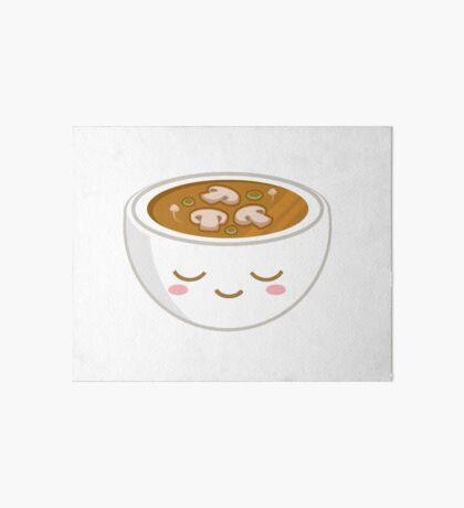 Mushroom Soup Art Board Print