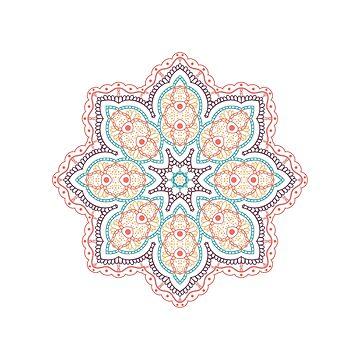Mandala flower by dasha-d