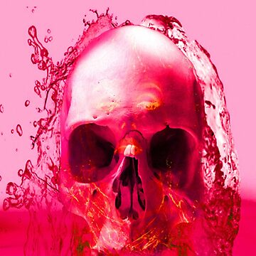 Red Skull in Water by Icarusismart