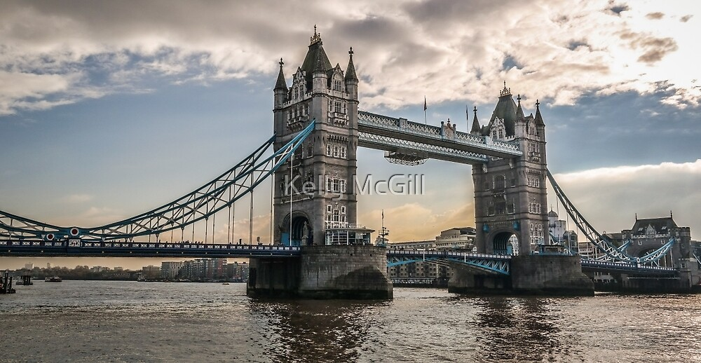 Tower Bridge, London England by Kelly McGill