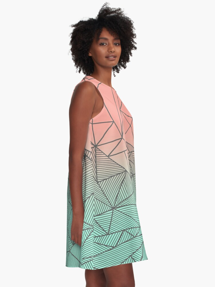 Alternate view of Bodhi Rays A-Line Dress