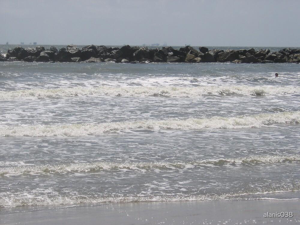 Grande Isle Jetty by alanis038