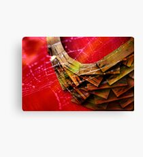 Tangled Web Canvas Print