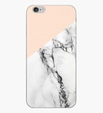 Blush with Marble iPhone Case