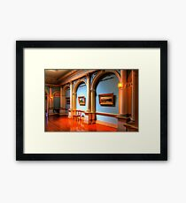 1436 The Saloon Framed Print