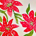 Poinsettias by Charisse Colbert