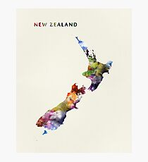 New Zealand Photographic Print