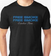 FREE SMOKE DRAKE MORE LIFE Unisex T-Shirt
