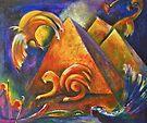 Pyramids Sphinx Secrets by CrismanArt