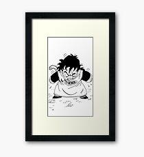 Gohan - Dragonball Z Framed Print
