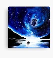Tardis Doctor Who Canvas Print