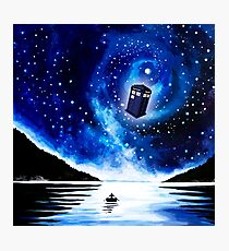 Tardis Doctor Who Photographic Print