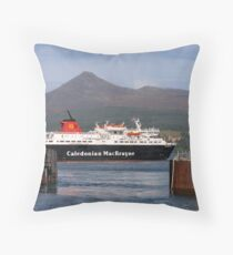 'Ferry' Tale Castle? Throw Pillow