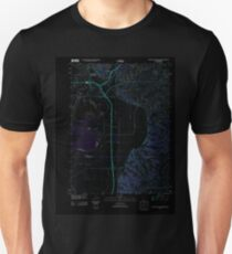 USGS TOPO Map Iowa IA Council Bluffs South 20130402 TM Inverted Unisex T-Shirt