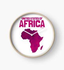 United States of Africa Clock