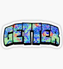 Getter - Wat the Frick psychedelic  Sticker