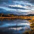 Tuolumne River Late Afternoon by Cat Connor