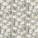Anemone - grey by Vicky Webb