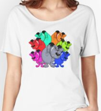trippy mutts alliance Women's Relaxed Fit T-Shirt