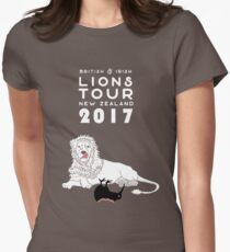 Lions Rugby Tour 2017 Womens Fitted T-Shirt