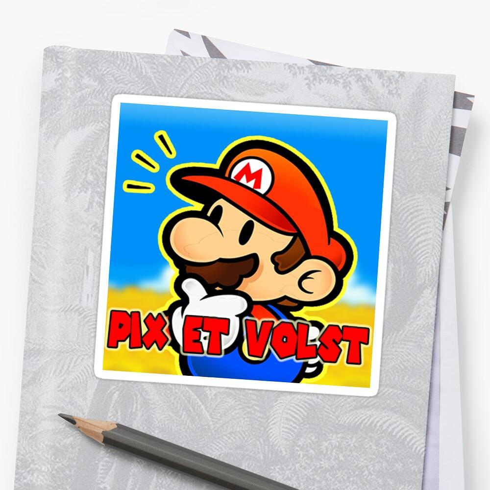 Pix & Volst official sticker! by PixVolst