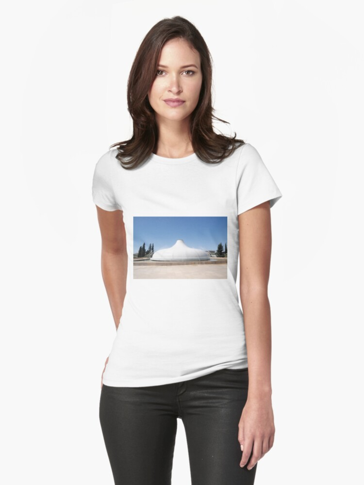 Israel, Jerusalem, Israel Museum, The Shrine of the Book Womens T-Shirt Front