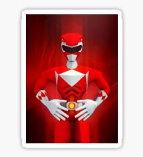 Red Ranger Sticker