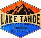 LAKE TAHOE CALIFORNIA SIERRA NEVADA SKIING MOUNTAINS BOATING HIKING CLIMBING SKI 2 by MyHandmadeSigns