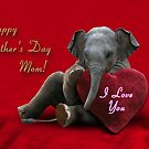 Happy Mother's Day Elephant by jkartlife