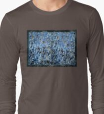 marbled paper - ink blue sea T-Shirt
