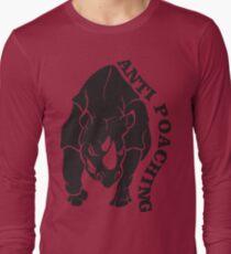 anti poaching Long Sleeve T-Shirt