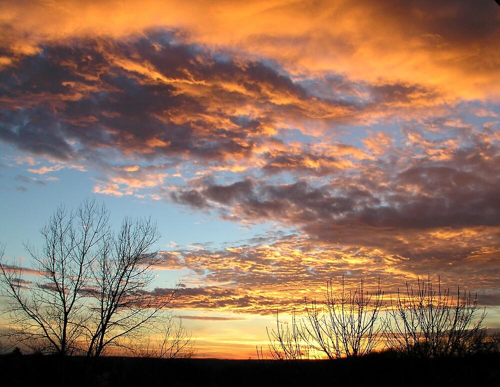 Sunrise Series 4 by Jim Caldwell