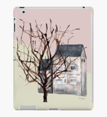 Small houses and trees - Edinburgh, Scotland  iPad Case/Skin
