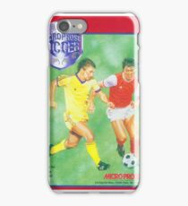 Microprose Football 8 bit! iPhone Case/Skin